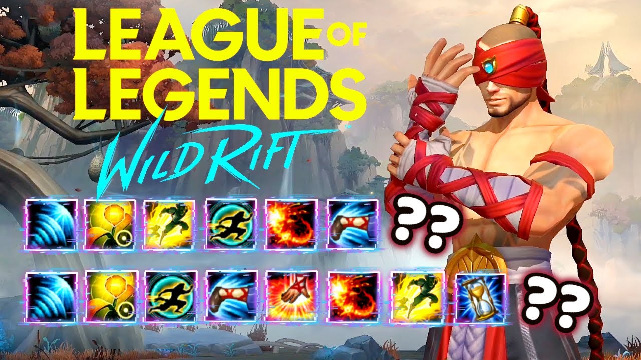 WILD RIFT LEE SIN COMBOS TEST | 100% CHINESE INSEC SUCCESS RATE!? | Wild Rift LEE SIN Highlights