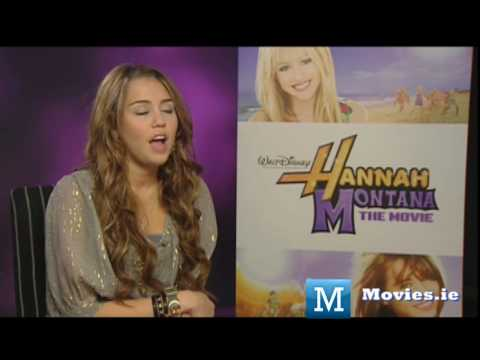 Miley Cyrus NEW Interview for Hannah Montana & The Last Song