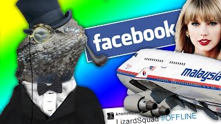 LIZARD SQUAD Hack Malaysia Airlines, Facebook, Instagram & Taylor Swift! (GTA 5 Online Gameplay)
