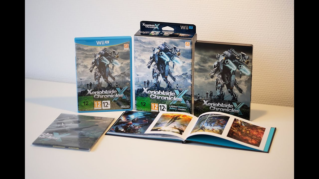 Xenoblade chronicles x limited edition european unboxing youtube xenoblade chronicles x limited edition european unboxing gumiabroncs Choice Image