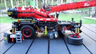 Lego 42082 Crane full RC mod with BuWizz