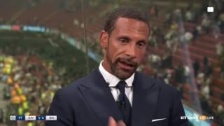 "Rio Ferdinand : ""this is why i HATE Ramos"" :Cheating again"