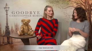 Cine News Interview - Goodbye Christopher Robin🍯🐻