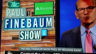 Uncle Lou on Finebaum | UGA TENNESSEE ENDING