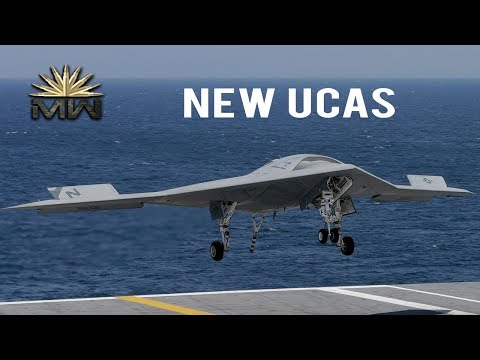 Northrop Grumman X-47B - New US UCAS [Review]