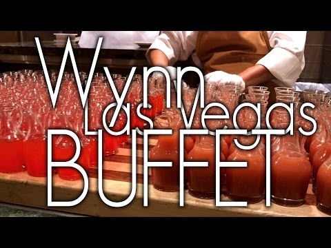 Wynn Las Vegas Buffet Brunch Full Tour 2017