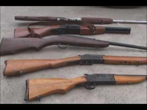 Armas de fuego en un taller youtube for Muebles para guardar armas de fuego