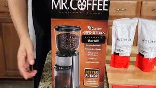 Mr. Coffee Burr Mill & MistoBox - PRODUCT REVIEWS