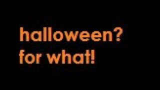 Neely Fuller Jr- Pedophilia And Halloween?