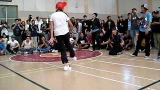 Extra Credit v. Rocksteady : Renegades Anniversary 2009: Bgirl Battle