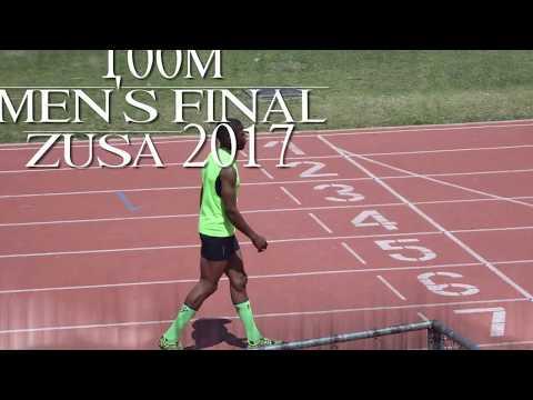 Muwishi Gerren(Bhiza) attains Gold at ZUSA in the Men's  100m  final