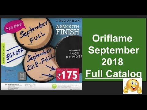 Oriflame September 2018 Full Catalog