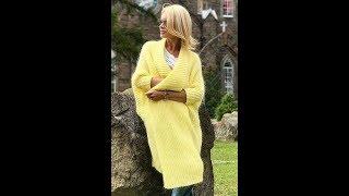 Кардиганы, Свитера, Кофты - Вязание для Женщин Спицами - 2019 / Cardigans Sweaters Sweatshirts