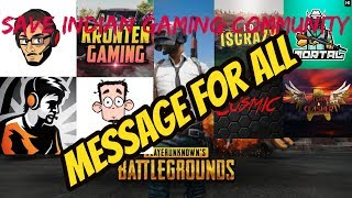 SAVE INDIAN GAMING COMMUNITY || HOW ? || MESSAGE TO ALL INDI...