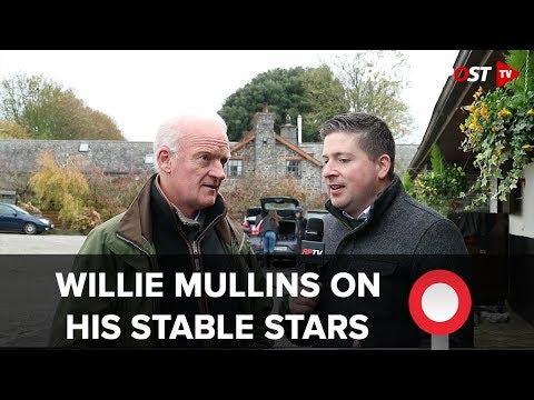 Willie Mullins on stable stars Footpad, Un De Sceaux and Faugheen at Irish jumps season launch