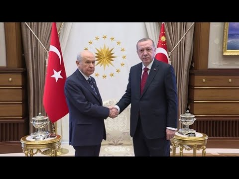 Erdogan meets Turkey nationalist chief over snap poll call