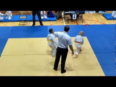 Impressive Kids Judo Fight - U9 Finals In Poland
