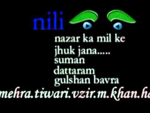 aaj aa gaye hain wh aur bhi karib mere _ by .suman_ md _dattaram 1962