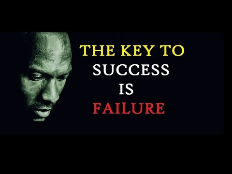 MICHAEL JORDAN: I'VE NEVER BEEN AFRAID TO FAIL - MOTIVATIONAL VIDEOS FOR STUDENTS 👊