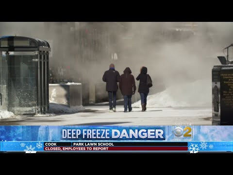 Sights And Sounds Of Chicago's Historic Cold Snap