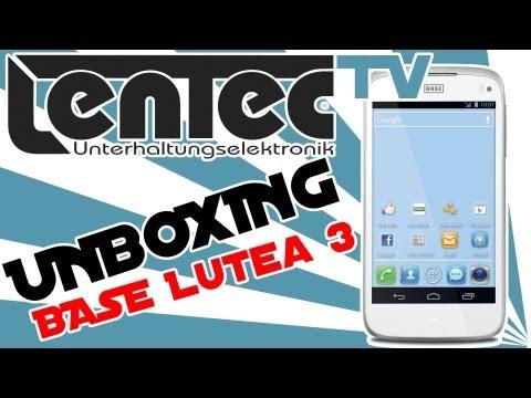 LENTEC Unboxing - BASE Lutea 3 (Alcatel one touch 998)