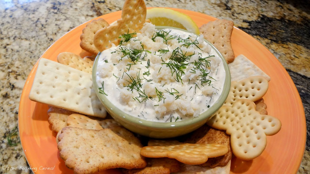 how to make crab dip youtube