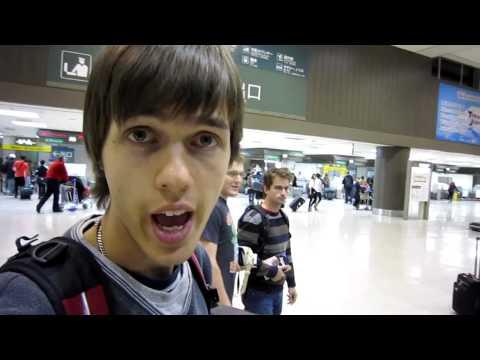 Japan, Narita: Day 1 - Narita international airport terminal