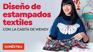 Diseño de estampados textiles - Curso online de La Casita de Wendy - Domestika