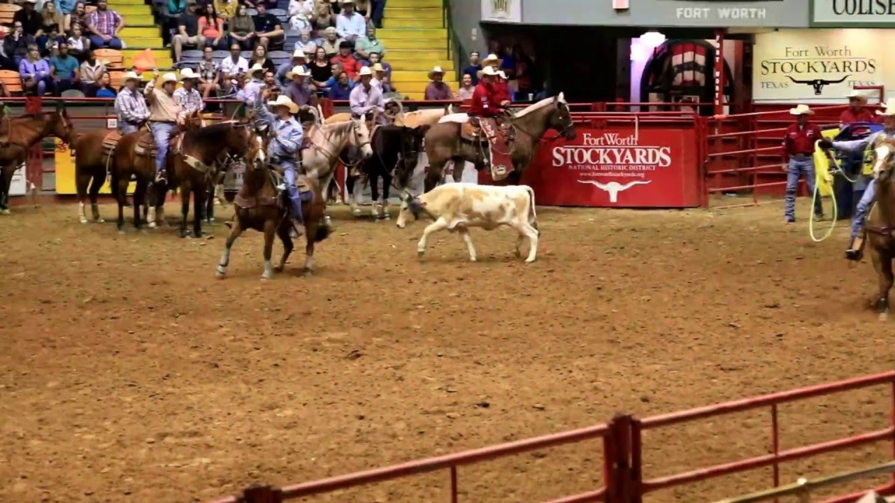 Fort Worth Stockyards Rodeo Show Youtube