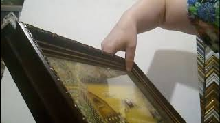 Рамки для икон Видео обзор от багетной мастерской Дом Рам
