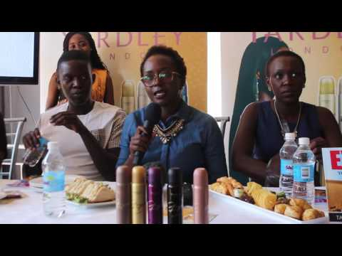 Annie kansiime Press confrence