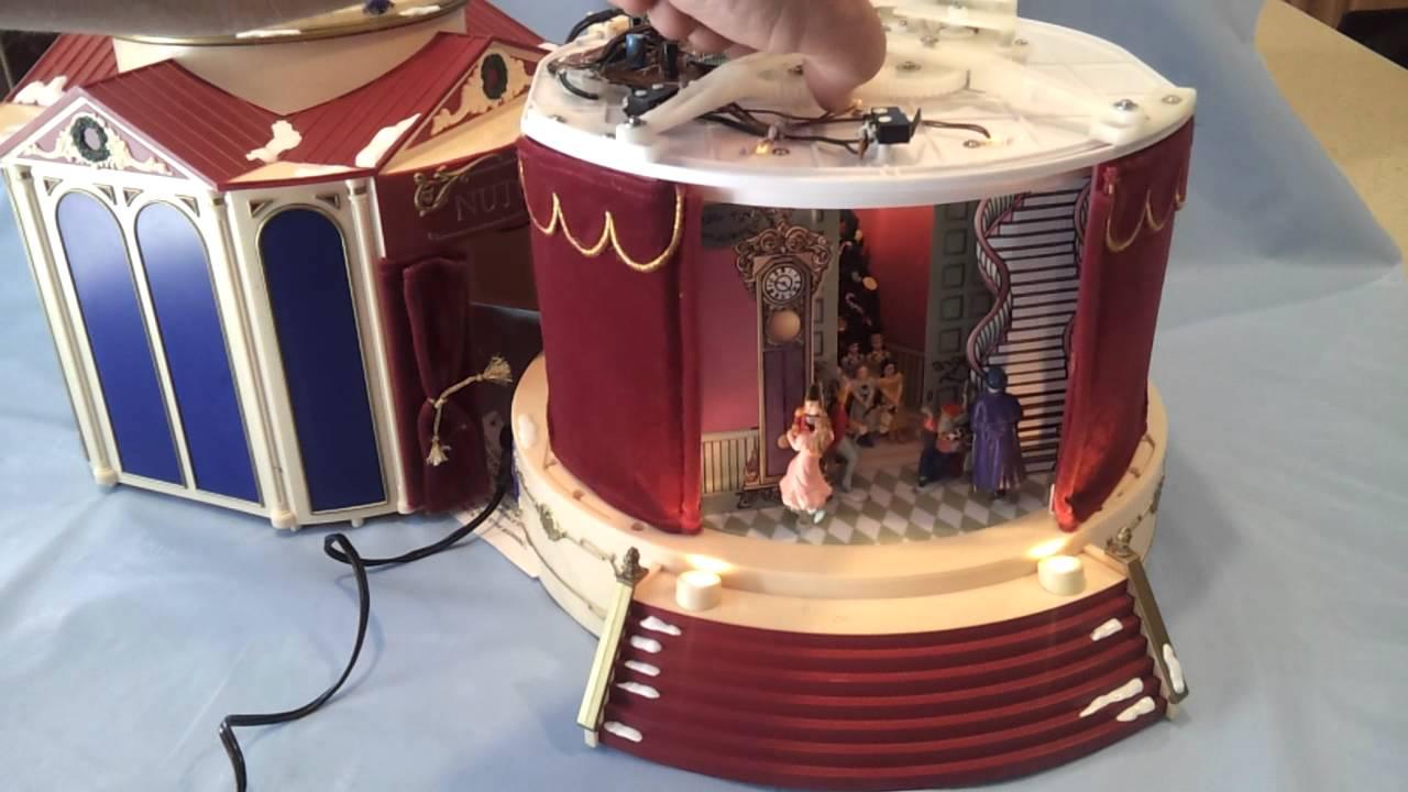 Mr christmas Nutcracker Suite Animated Music Box - YouTube