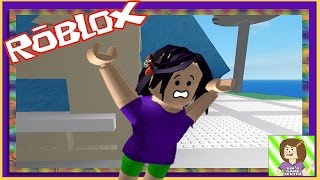 AWWW IT'S A TSUNAMI !!! Natural Disaster Survival in Roblox | Bins Game Center