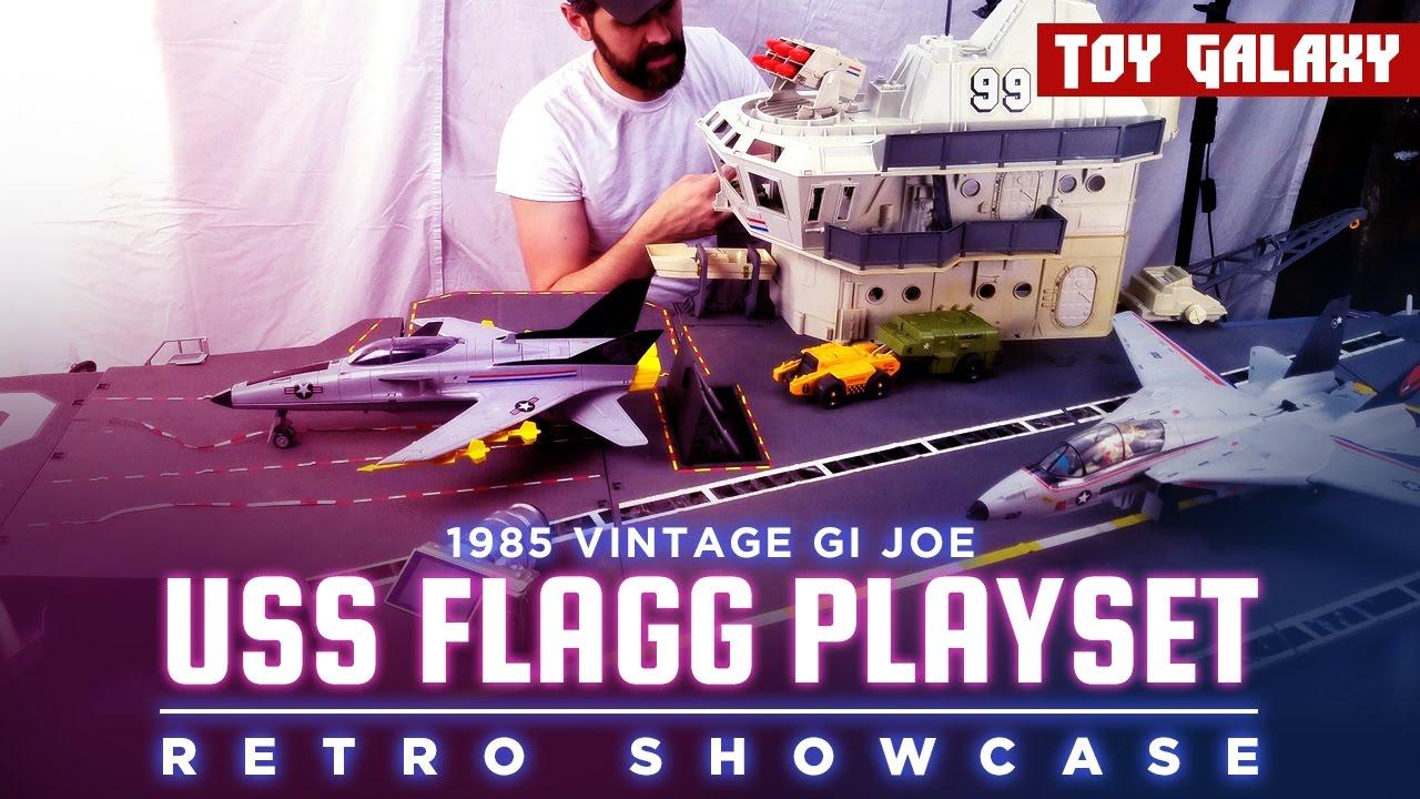 Flagg Aircraft Carrier Missile 1985 Hasbro G.I Joe U.S.S