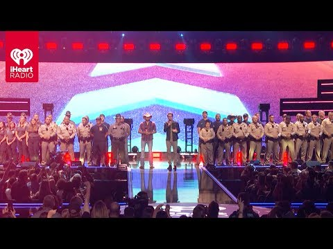Jason Hurst - Las Vegas First Responders Were Honored At The iHeartRadio Music Festival