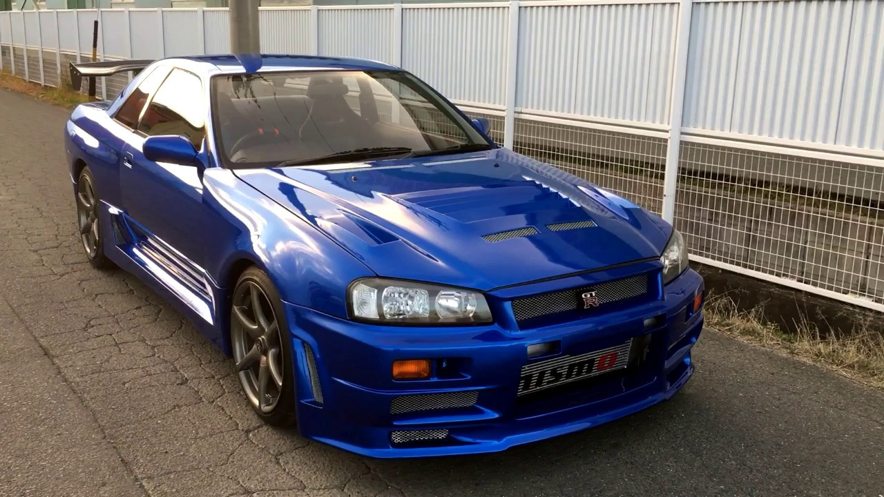 Nissan skyline gt r r32 with r34 z tune body kit for for Nissan gtr bodykit