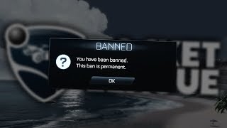I Got Permanently Banned On Rocket League...