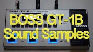 Boss GT-1B Samples gt-1b gt1b