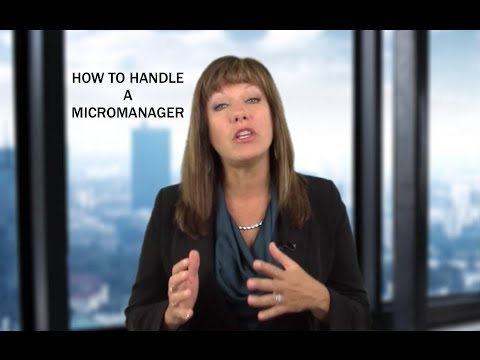 How To Handle A Micromanager - Real Women Real Success