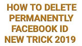 delete facebook permanently 2019
