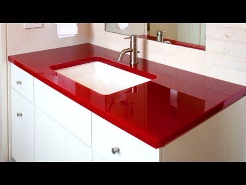 55 Bathroom Countertop Ideas