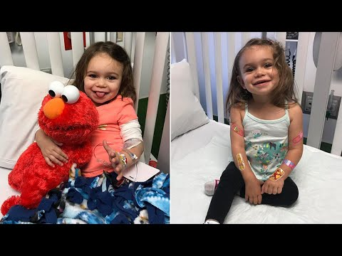 Rare Brain Disorder Causes This 2-Year-Old Girl To Fall 100x a Day
