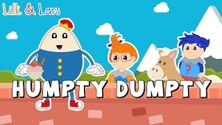 HUMPTY DUMPTY SAT ON A WALL song lyrics | nursery rhymes for children humpty dumpty | Toddlers