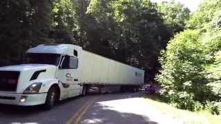 Repeat youtube video Semi crash into Motorcycle - Tail of the Dragon Deals