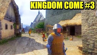 ATACANDO A LOS BANDIDOS, CAZANDO Y AL RESCATE - KINGDOM COME: DELIVERANCE #3 | Gameplay Español