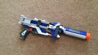 Nerf N-Strike Elite Spectre Rev-5 Unboxing & Review