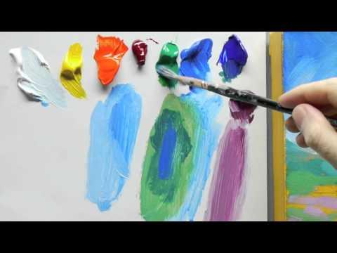 Landscape Painting Techniques Tutorial Part – 2 !!!