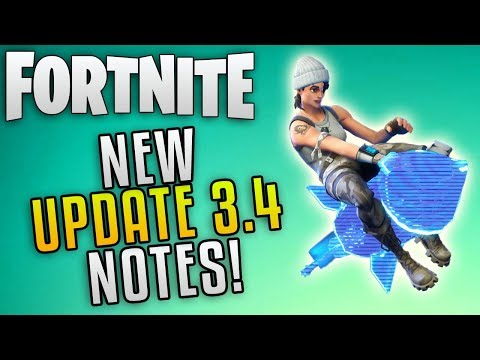 """Fortnite Update 3.4 Patch Notes """"Fortnite Easter Update"""" Fortnite Save The World Update 3.4 Notes"""