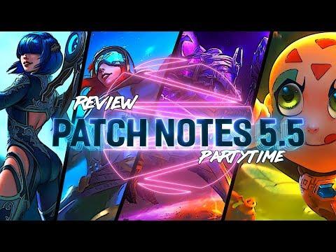 SMITE PATCH 5.5: INSANE HUNTER ITEM BUFF PATCH! - Incon