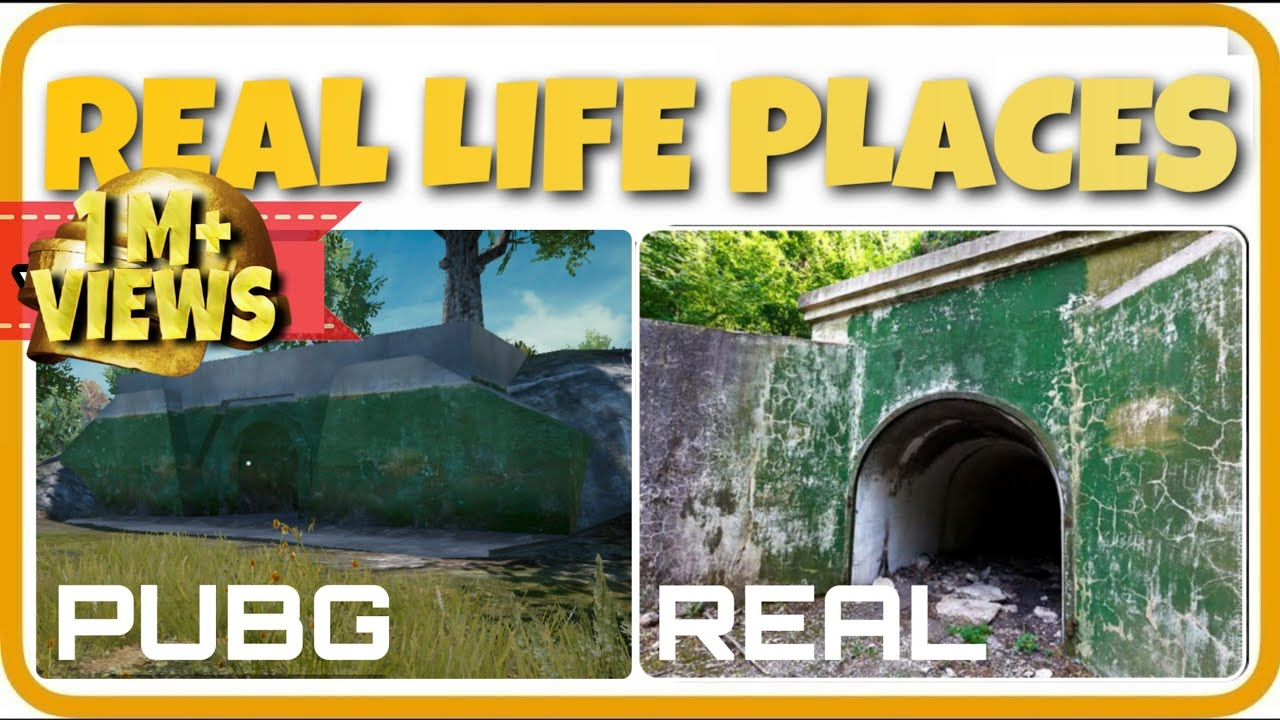 Real Life Places In Pubg Part 1 Real Life Erangel Youtube